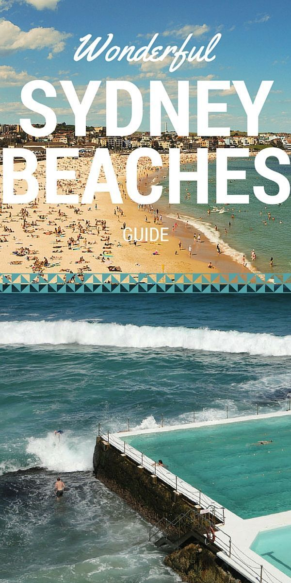 A Guide To The Most Wonderful Sydney Beaches Sydney Beaches Australia Travel Sydney