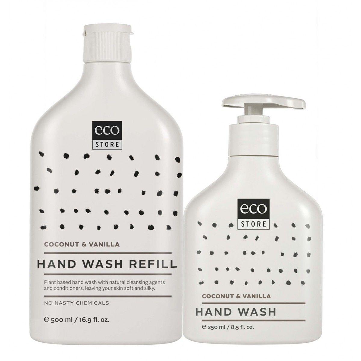 Hand Wash Coconut & Vanilla Coconut, Body care, Plant