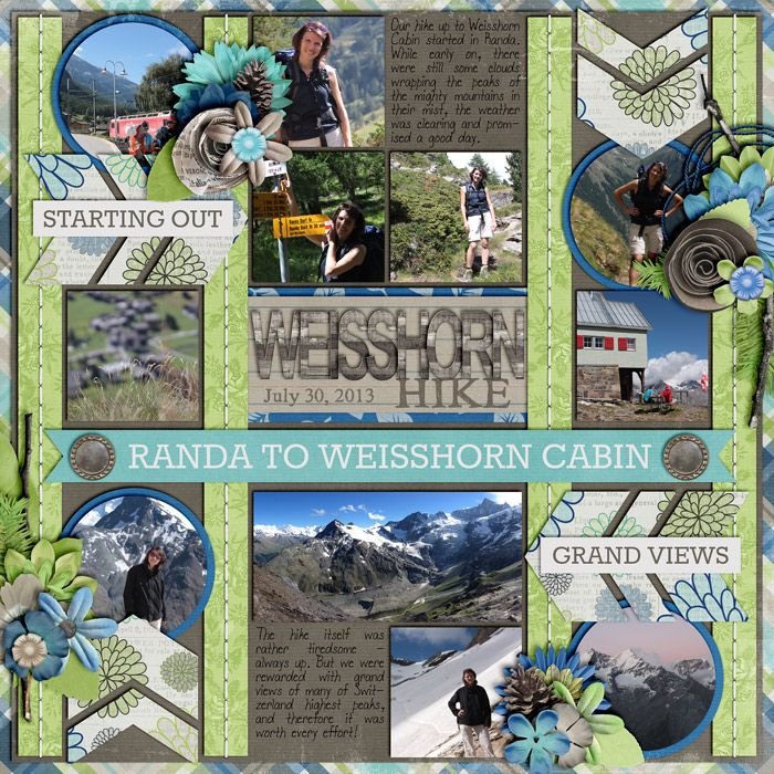 Nothing But Blue Skies by Melissa Bennett Template from Single 25 by Cindy Schneider Font: DJB I Love Me Some Tronesia by Darcy Baldwin