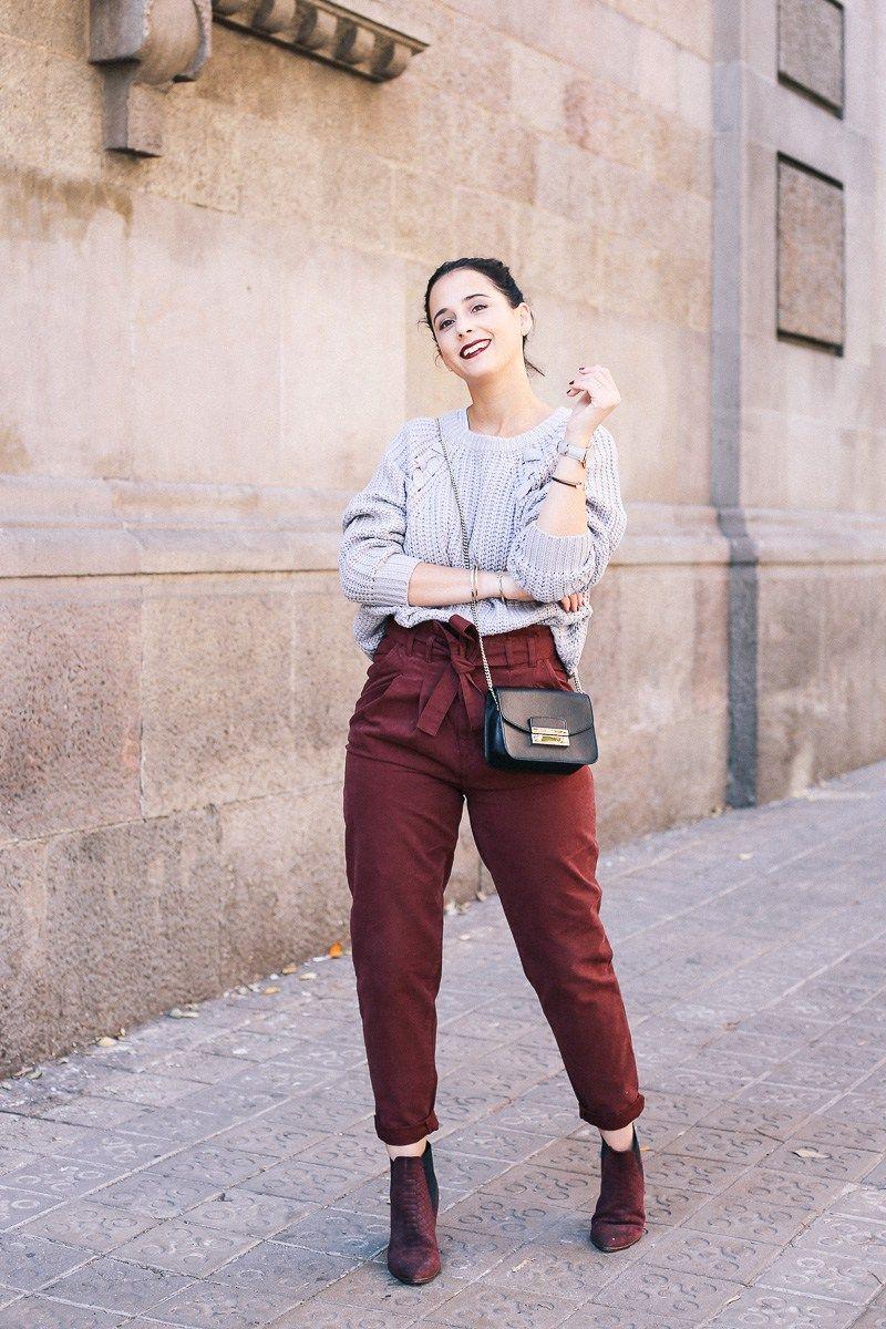 Look Pantalon Paperbag De Talle Alto De Asos Clothes Fashion My Style