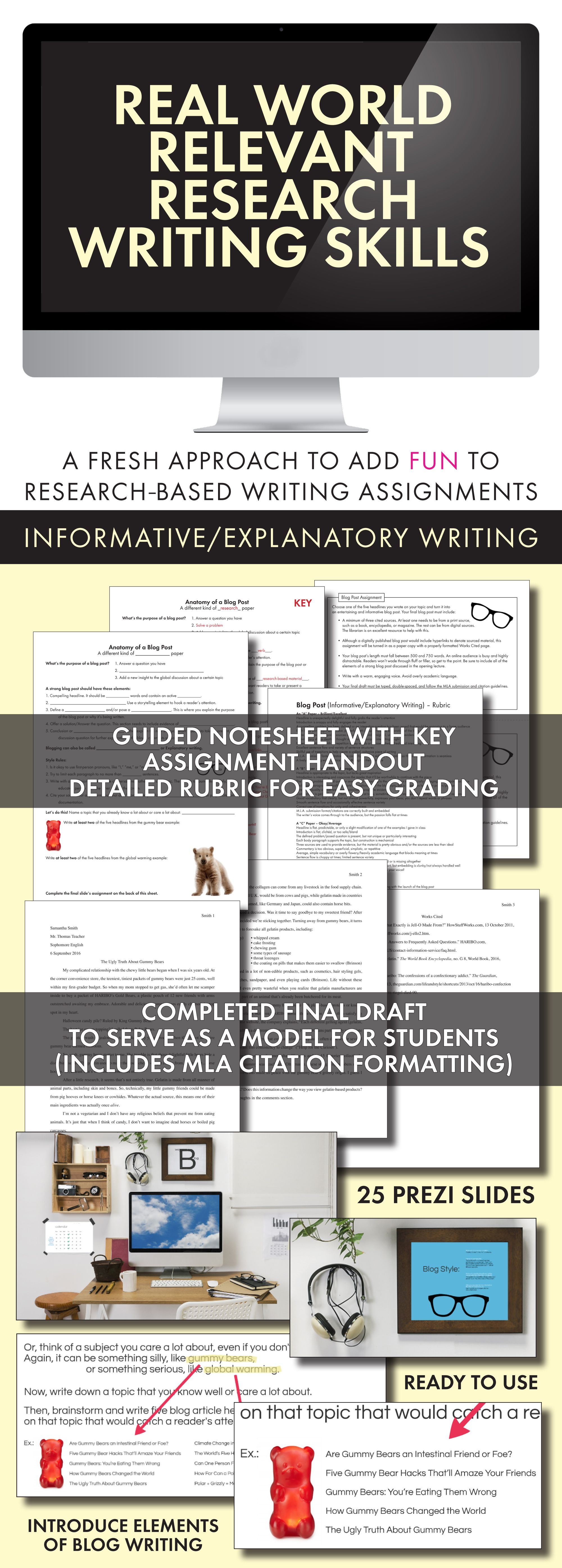Research Based Writing For Teens Use Blog Approach To Practice Research Ccss
