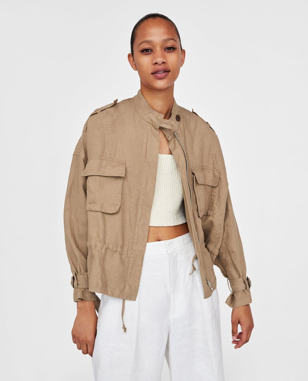 new product de4b6 8540b RUSTIC JACKET WITH POCKETS