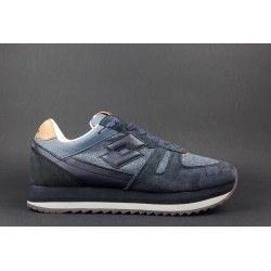 Lotto Leggenda   Sneakers Kyoto Uomo Camoscio Tessuto Denim Blu Prezzo  135 102087ce076