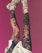 Photo of 22 Gorgeous Thigh Tattoos For Girls #tattoosforwomen  22 Gorgeous Thigh Tattoos …
