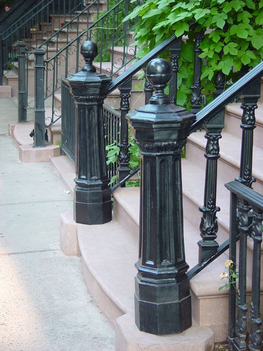 Pin By Cast Shadows Studio On Fences I Fancy Wrought Iron Fences Wrought Iron Staircase Cast Iron Fence