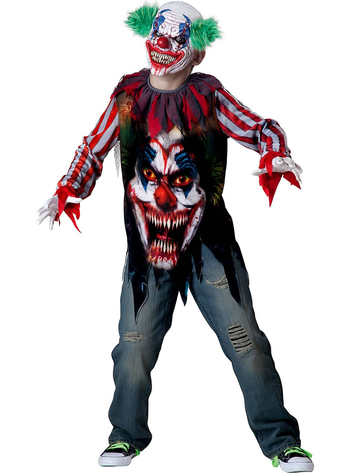 Halloween Kostume Jungs.Big Top Terror Costume Cheap Horror Costumes For Boys Scary Clown Costume Clown Costume Kids Halloween Costumes For Kids