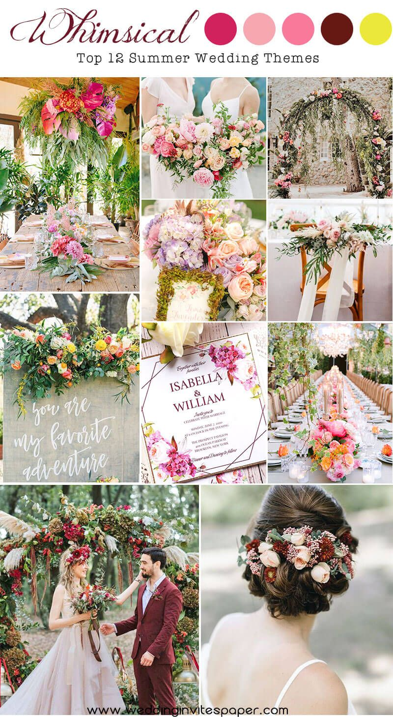 Top 12 Summer Wedding Themes Too Good To Miss In 2020 Wedding Themes Summer Wedding Themes Summer Wedding