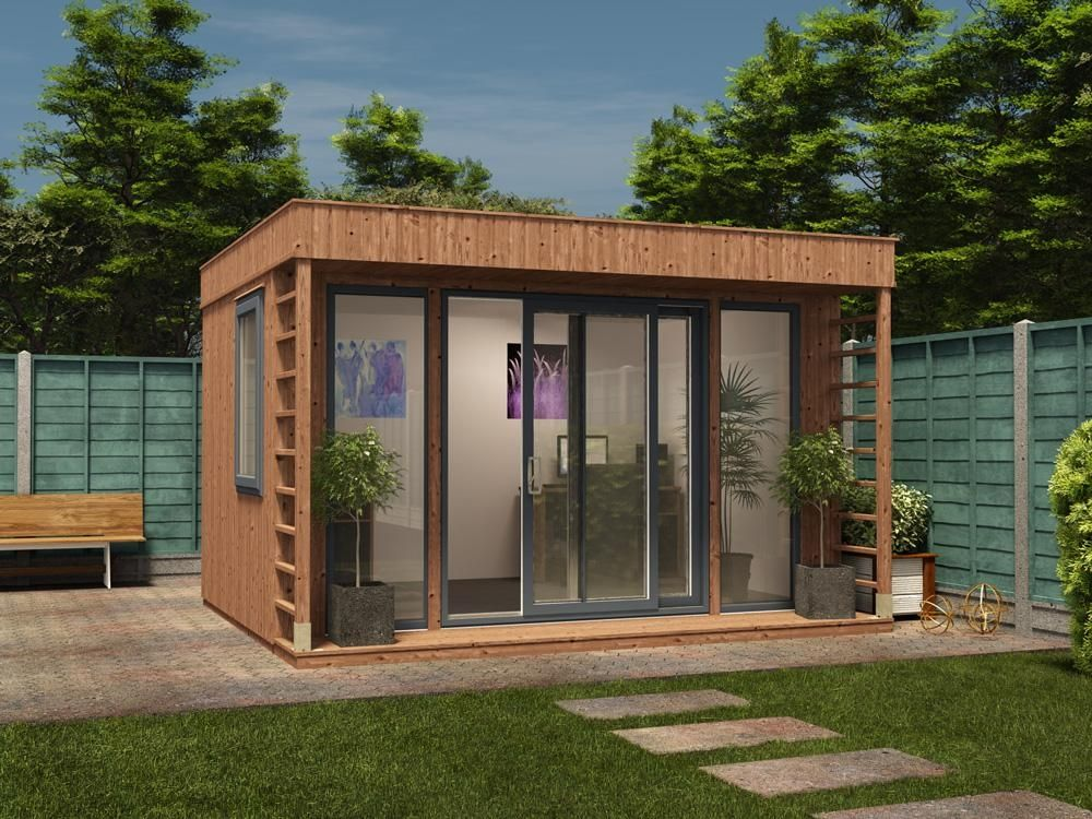 Theodore Garden Office W3.8m X D3.3m | Garden Offices