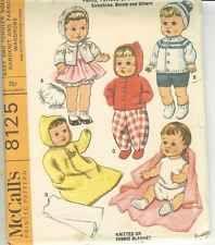 UNCUT Vintage Tiny Tears Knit