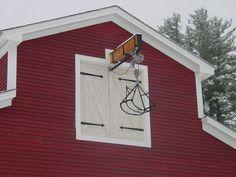 Diy Faux Hay Loft Door Exterior House Google Search Barn Loft Loft Door Barn Style House