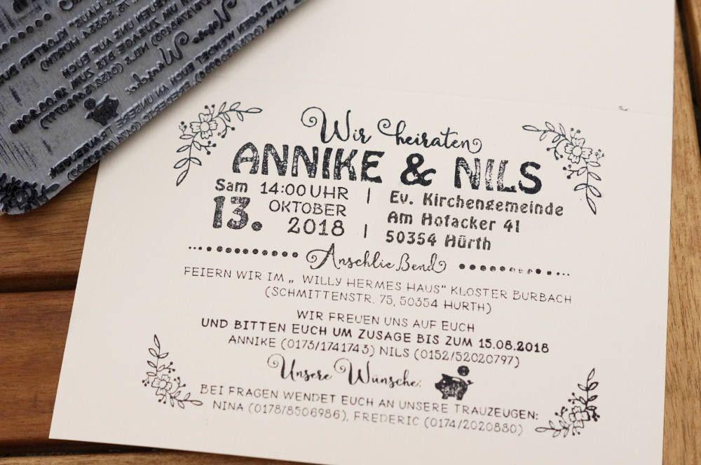 Maxi Textstempel Hochzeitsstempel Hochzeitseinladung Maxistempel Textstempel Xxl Einladung Hochzeit Einladungskarte Stempel 13 X 10 Cm Einladungen Hochzeit Hochzeitseinladung Einladungskarten Hochzeit