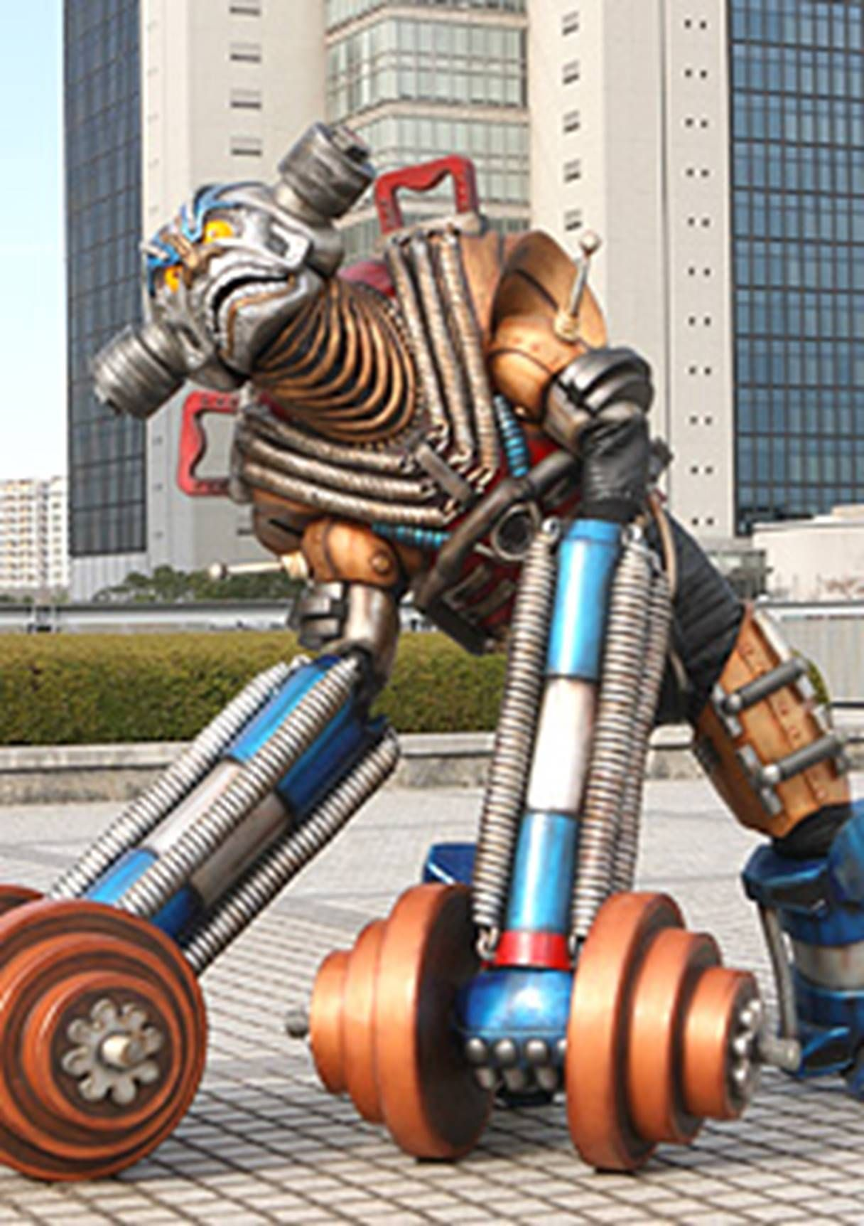 I searched for power rangers rpm dumbbell bot images on Bing and ...