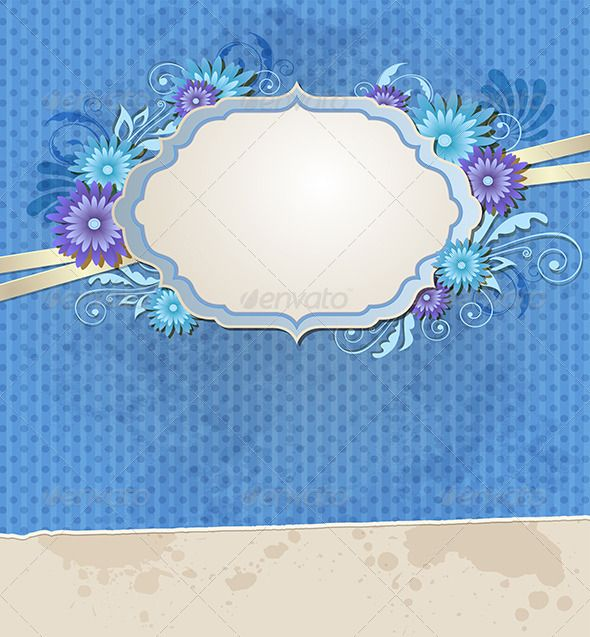 Realistic Graphic DOWNLOAD (.ai, .psd) :: http://vector-graphic.de/pinterest-itmid-1008423023i.html ... Blue Vintage Ragged Paper and Flowers ...  background, banner, bloom, blossom, blot, blue, card, decorative, design, floral, flower, label, old, paper, plant, ragged, retro, swirl, tag, torn, vector, vintage  ... Realistic Photo Graphic Print Obejct Business Web Elements Illustration Design Templates ... DOWNLOAD :: http://vector-graphic.de/pinterest-itmid-1008423023i.html