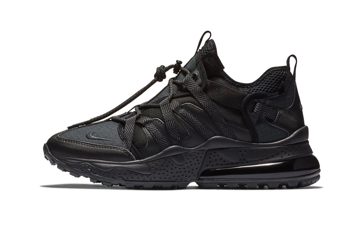 """Nike Covers the Air Max 270 Bowfin in a Slick """"Triple Black"""" Color ... 1db322ef8"""