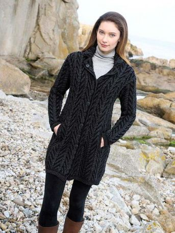 Aran Crafts Sweater Womens Ladies | Wonderful Wearables ...