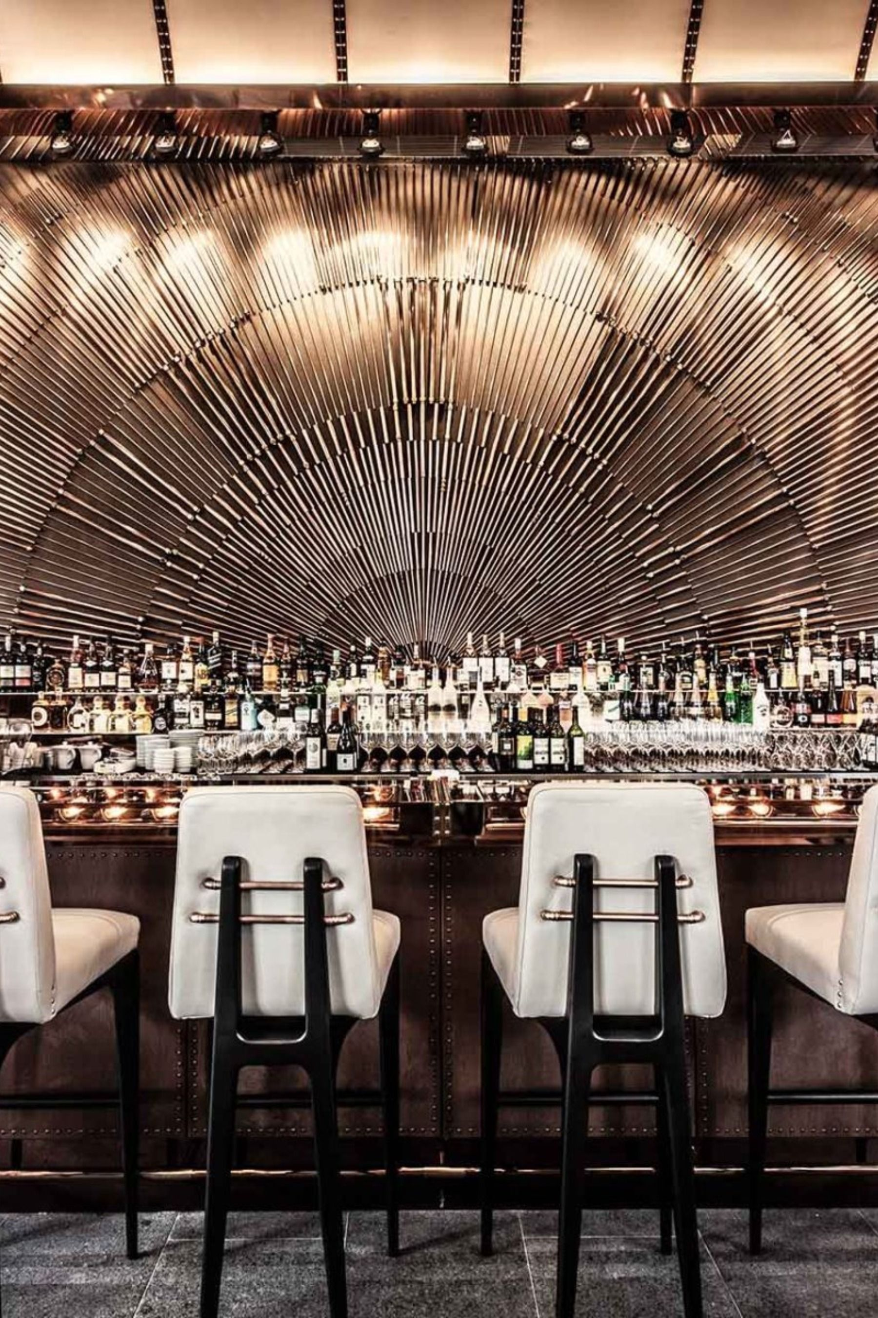 AMMO Is A Luxury Modern Interior Design Restaurant In Hong Kong, Certainly One Of The Bes