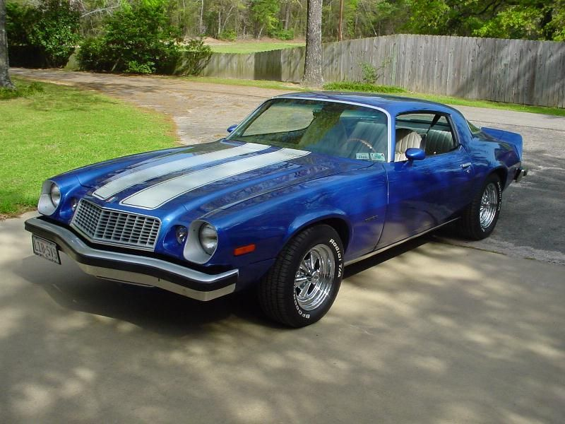 1975 Camaro Z28 I Would Take One Of These Too