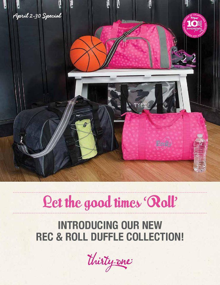Thirty One Pro Duffle Bag An Organized For When I Work Out