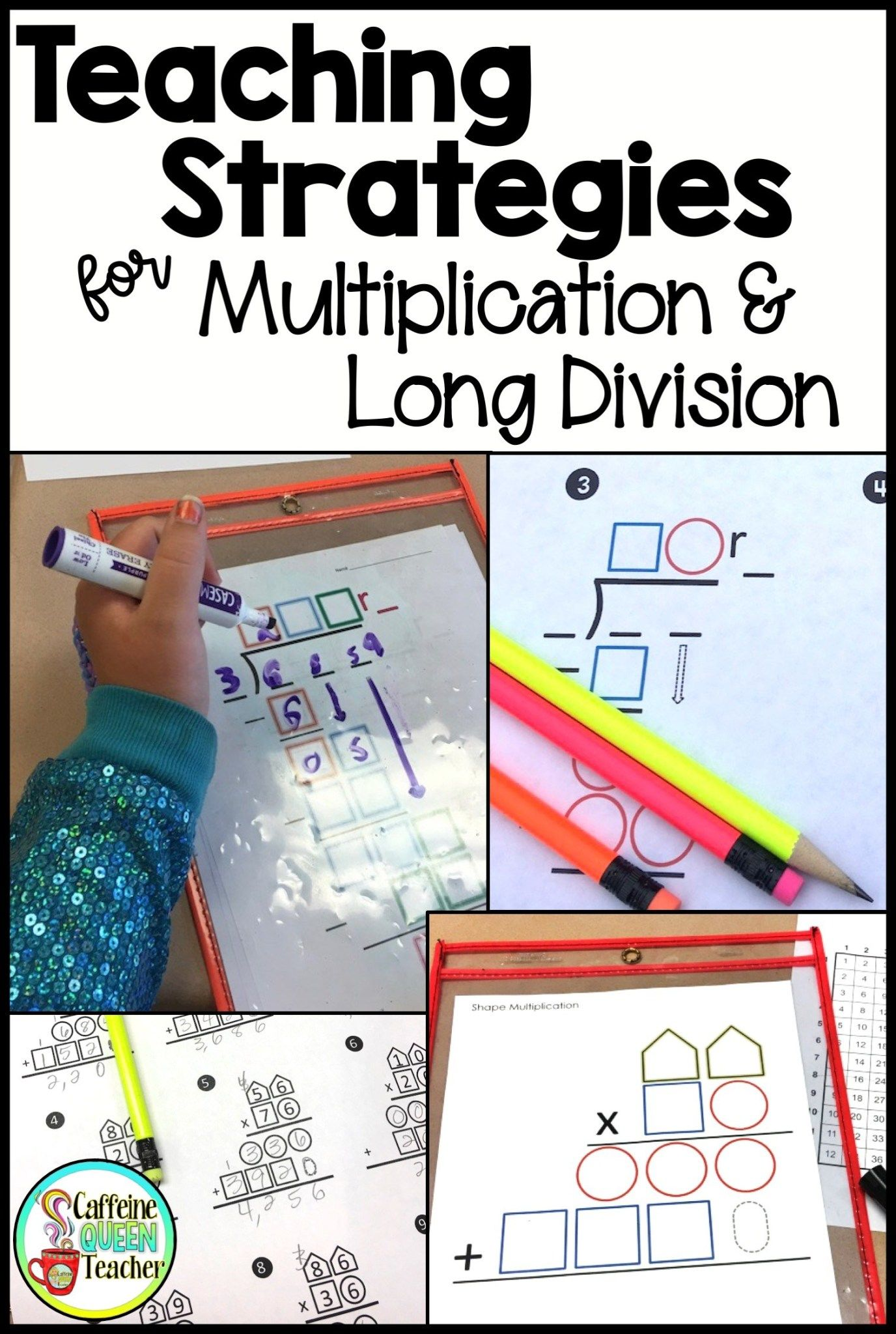 How To Teach Multi Digit Multiplication And Long Division