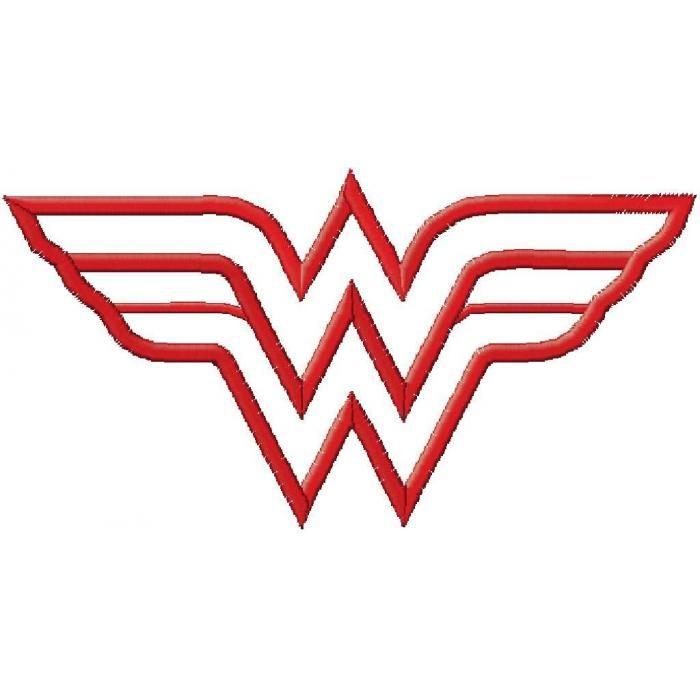 Wonderwoman Embroidery Designs