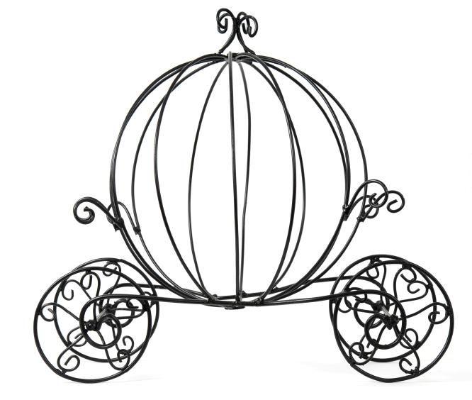 Carriage Clipart Cinderella Pumpkin In Cinderella Carriage Black
