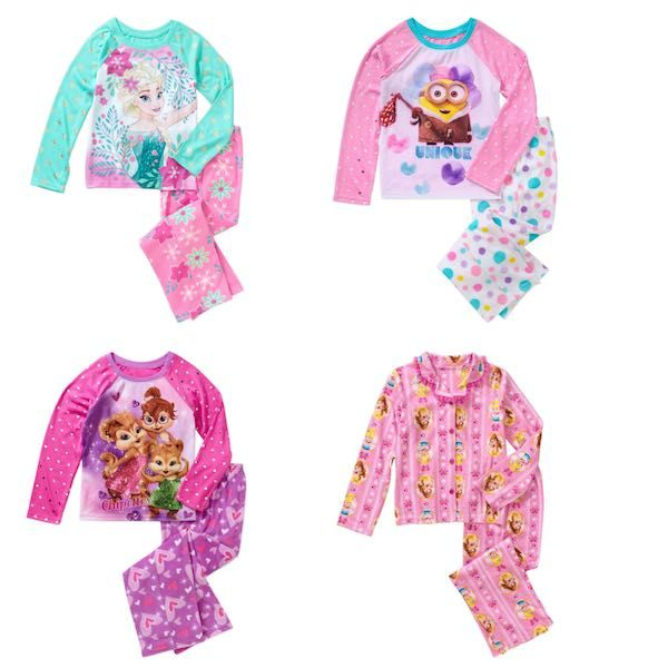 a4ae1cdcf Check out this deal at Walmart! Get select Girl s Pajamas for only ...