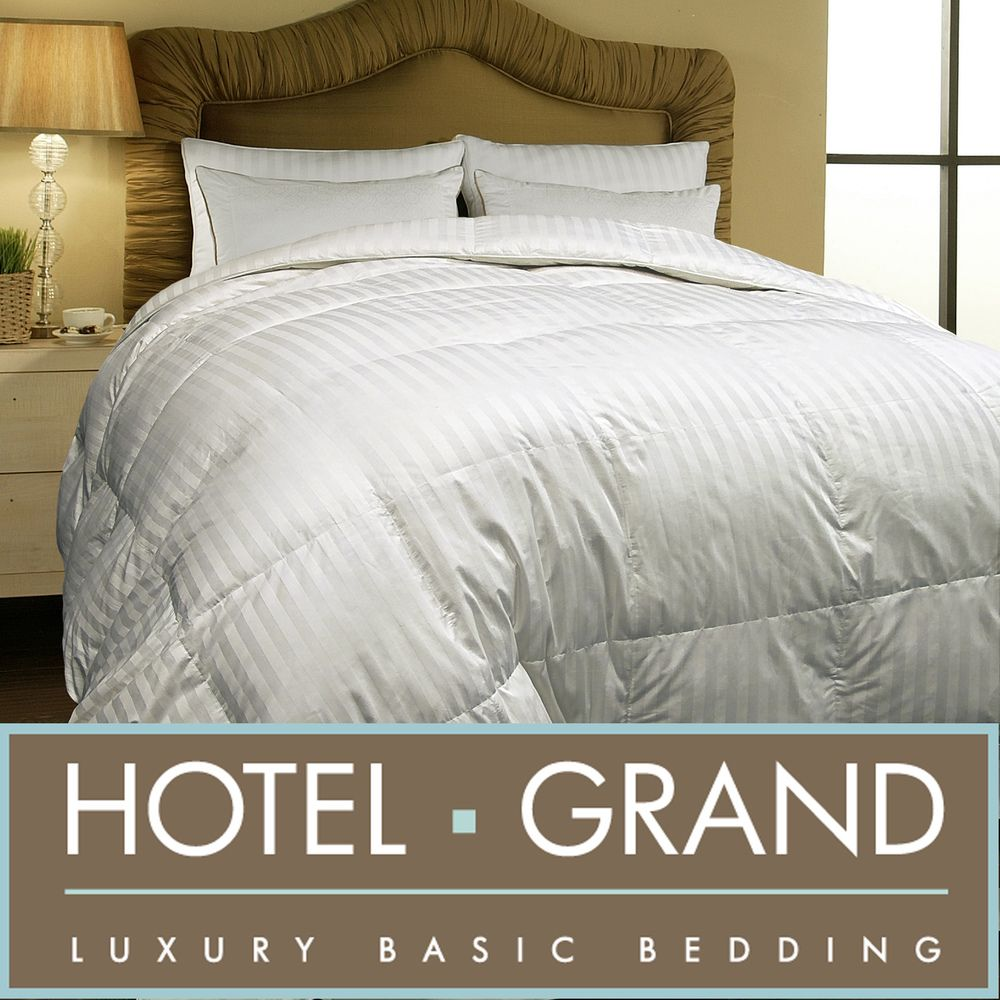 Hotel Grand 500 Thread Count Oversized Allseason White
