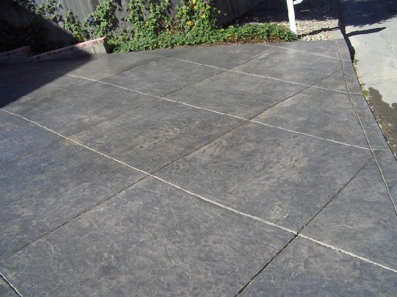 Stamped Seamless Decorative Concrete San Luis Obispo Ca
