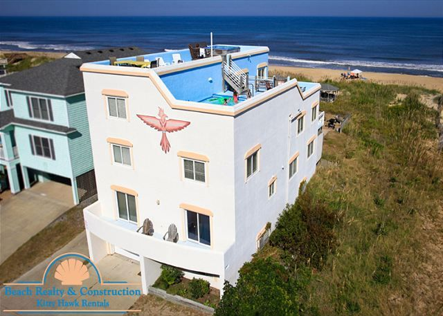 Quot Thunderbird Quot Beach Realty Nags Head Oceanfront W Rooftop