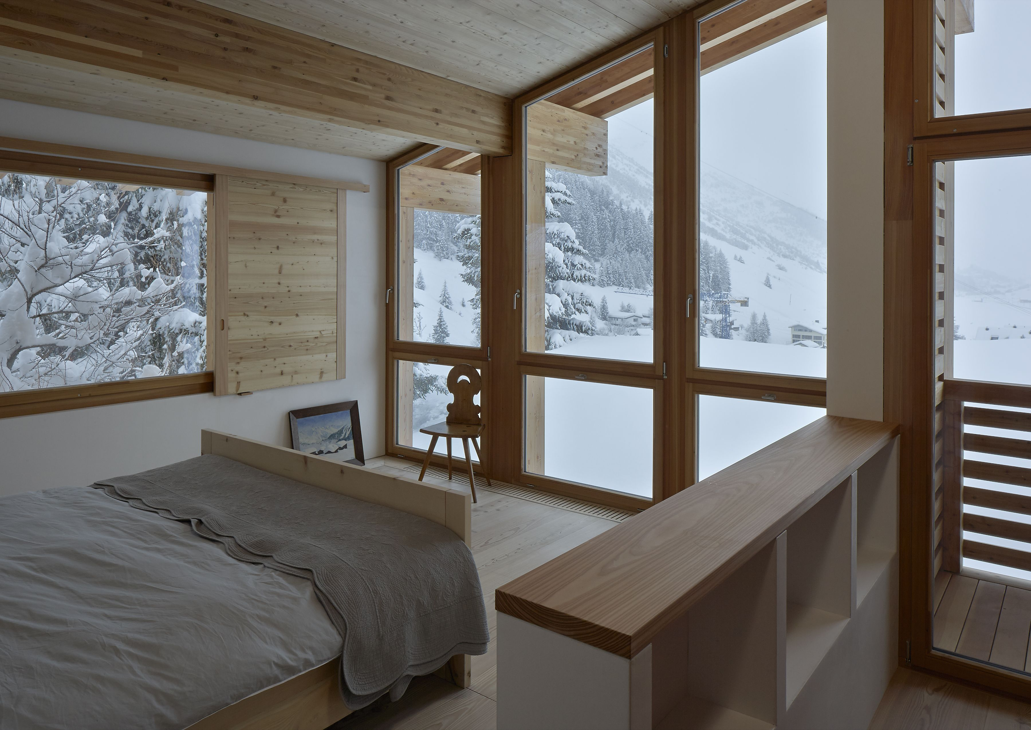 Rothaus   Jonathan Tuckey Design, Andermatt, Switzerland. A double ...