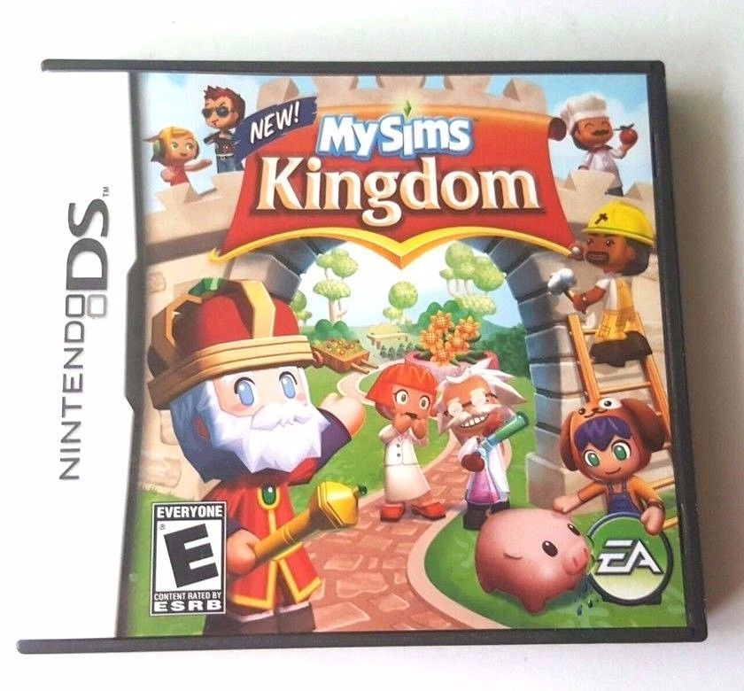 Nintendo Ds Dsi Dsl 3ds Complete Game Mysims Kingdom Customize