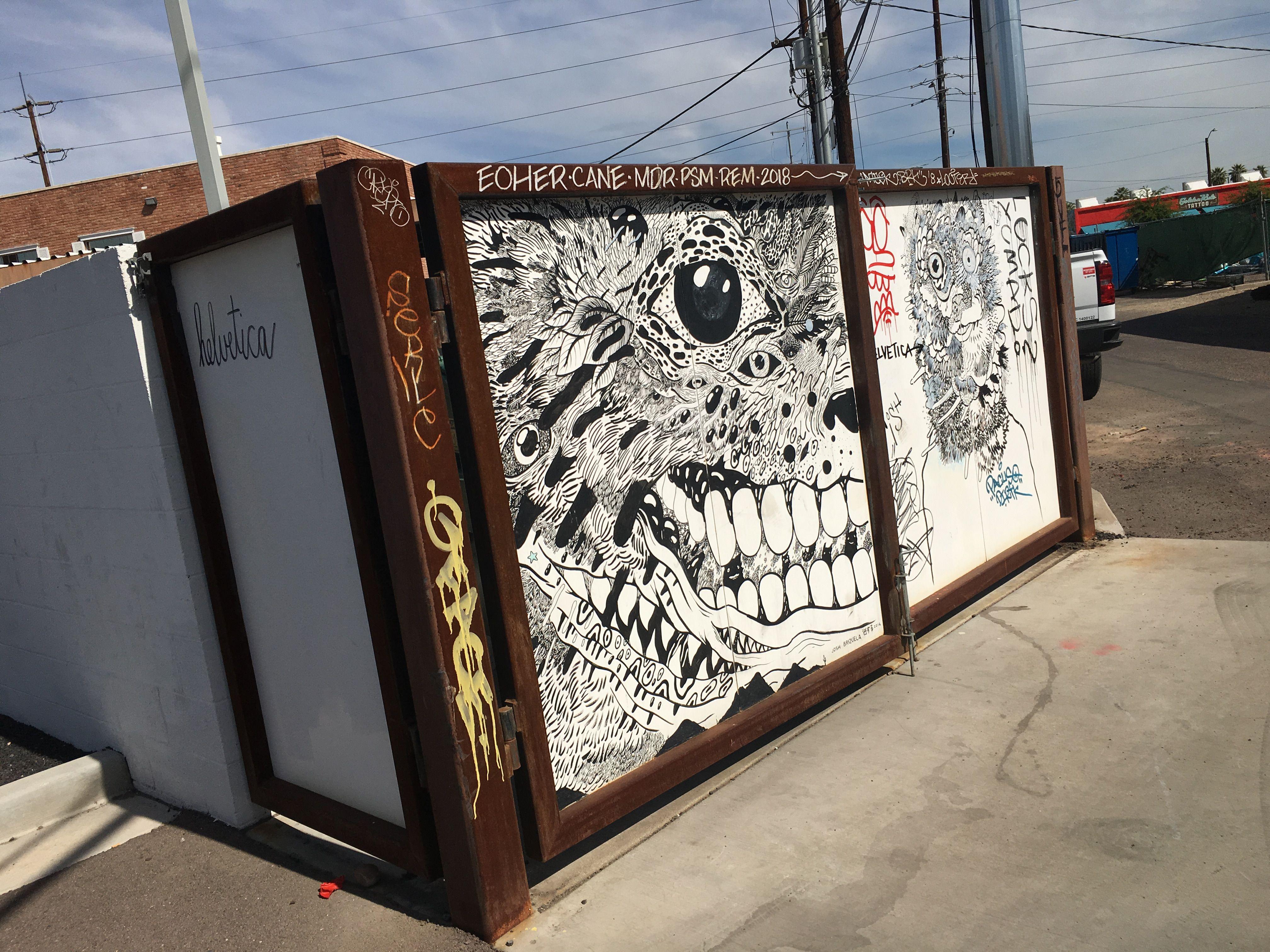 Downtown phoenix sharpie josh brizuela graffiti