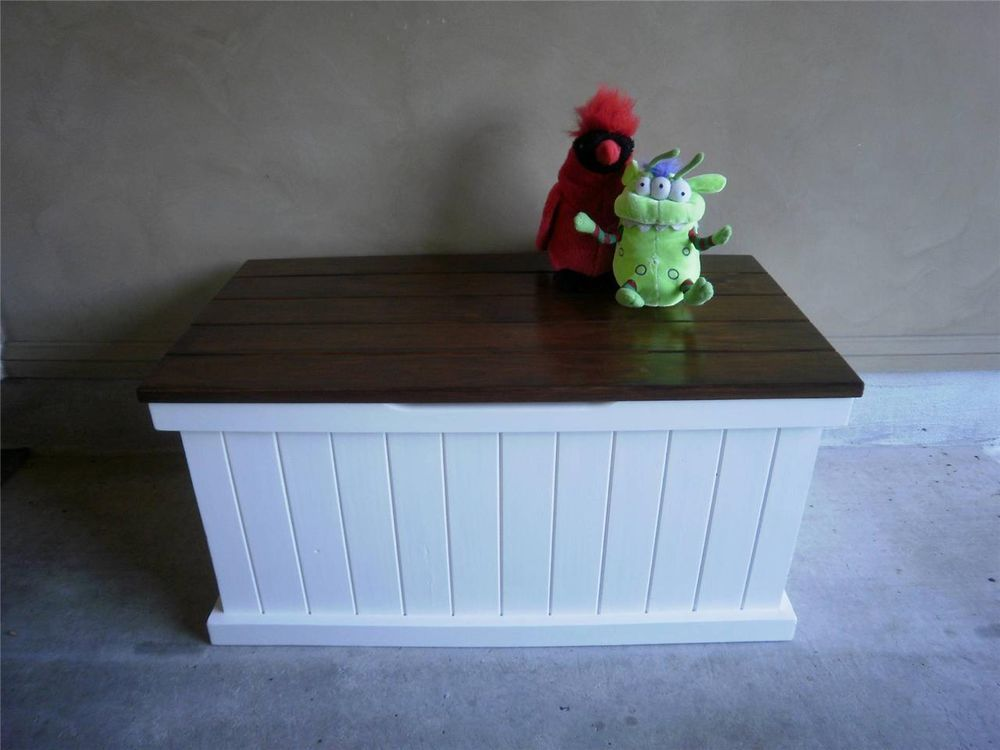 French Country Hamptons Style Toybox Trunk Storage Coffee Table Childrens Toy Boxes Country Toys Toy Boxes
