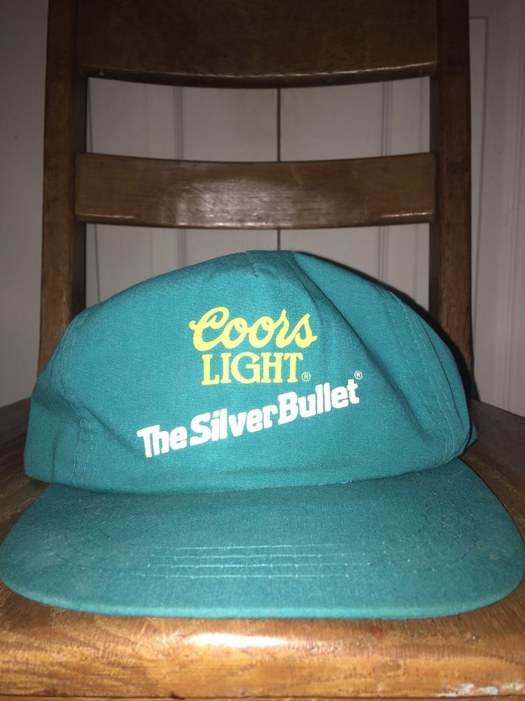 ffeafe1d4cb91 Vintage COORS LIGHT BEER Turquoise Snapback Ball Cap Hat GREAT CONDITION   fashion  clothing  shoes  accessories  vintage  vintageaccessories (ebay  link)