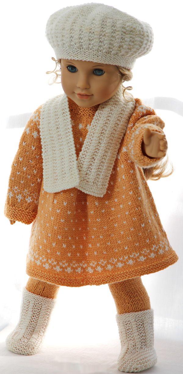 Strickanleitung für Puppenkleidung