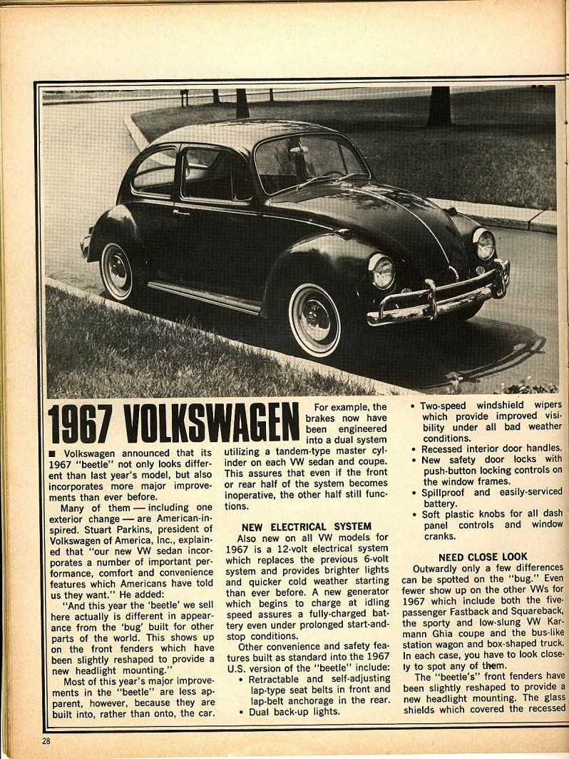 67 Volkswagen Beetle Vast Improvements Volkswagen Beetle Volkswagen Vw Beetles