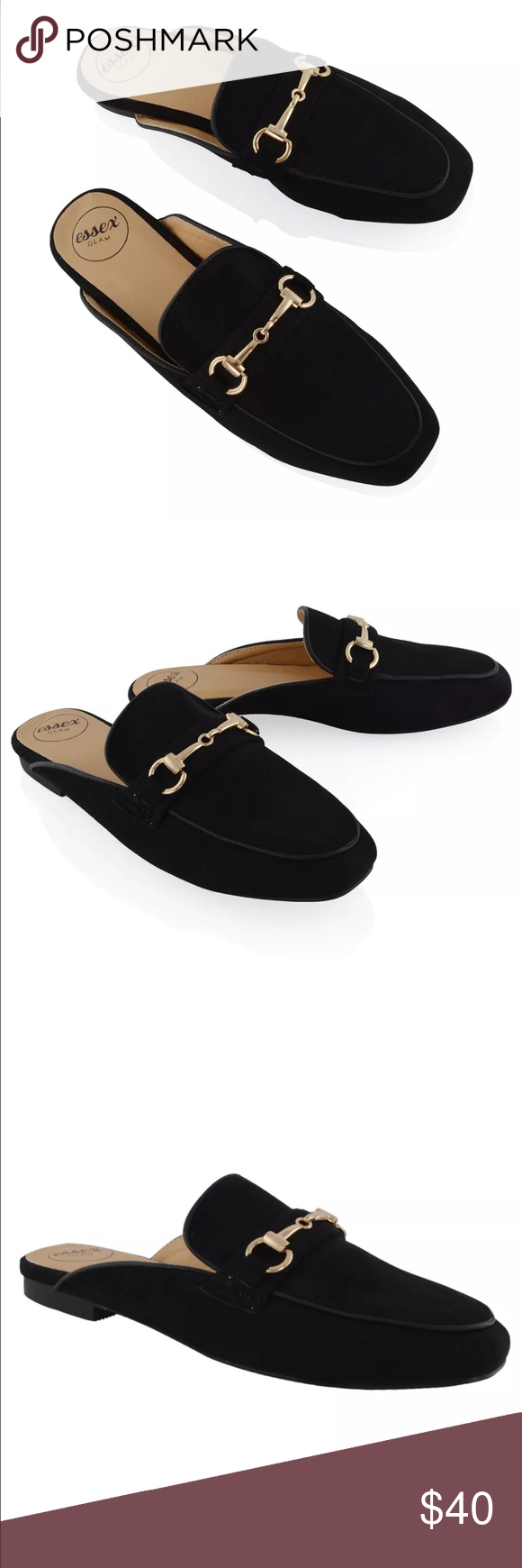 ea6bab334 faux suede gucci look alike loafers so cute never been worn! Zara Shoes  Flats & Loafers