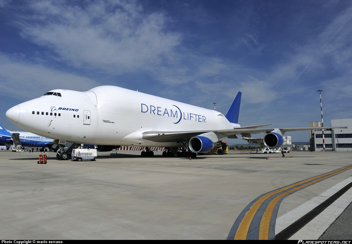 N249BA Boeing Boeing 747409(LCF) Dreamlifter taken 05