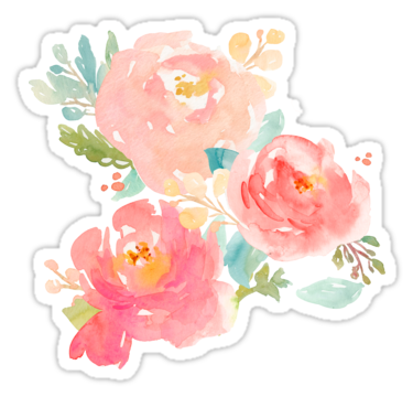 Peonies Watercolor Bouquet U2022 Also Buy This Artwork On Stickers, Apparel,  Kids Clothes,