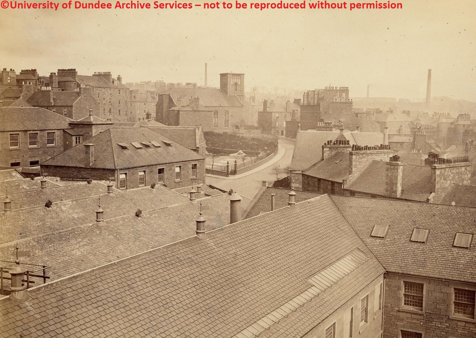 University Of Dundee Dundee Old Photos Parish