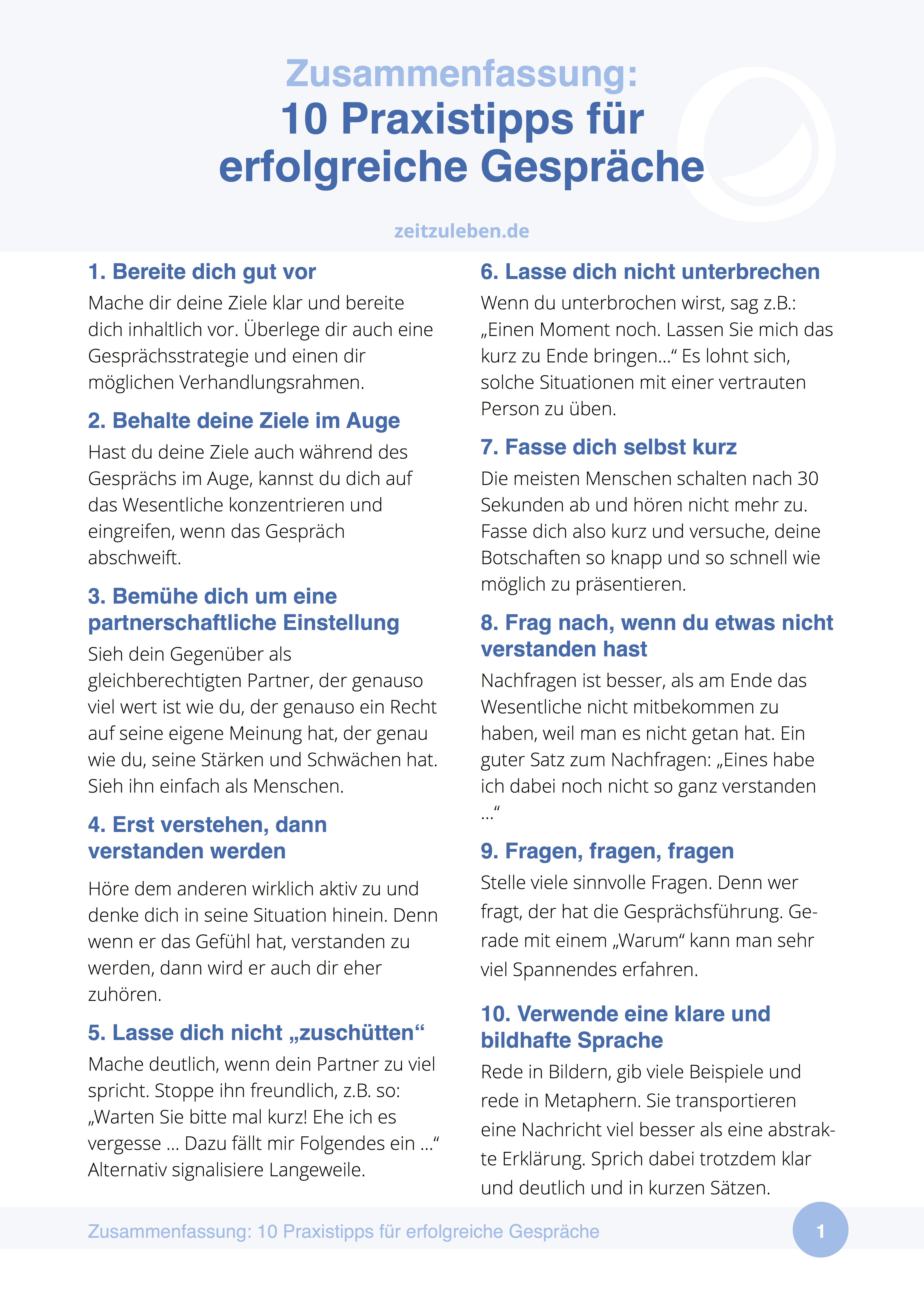 10 Praxistipps Für Erfolgreiche Kommunikation Kommunikation