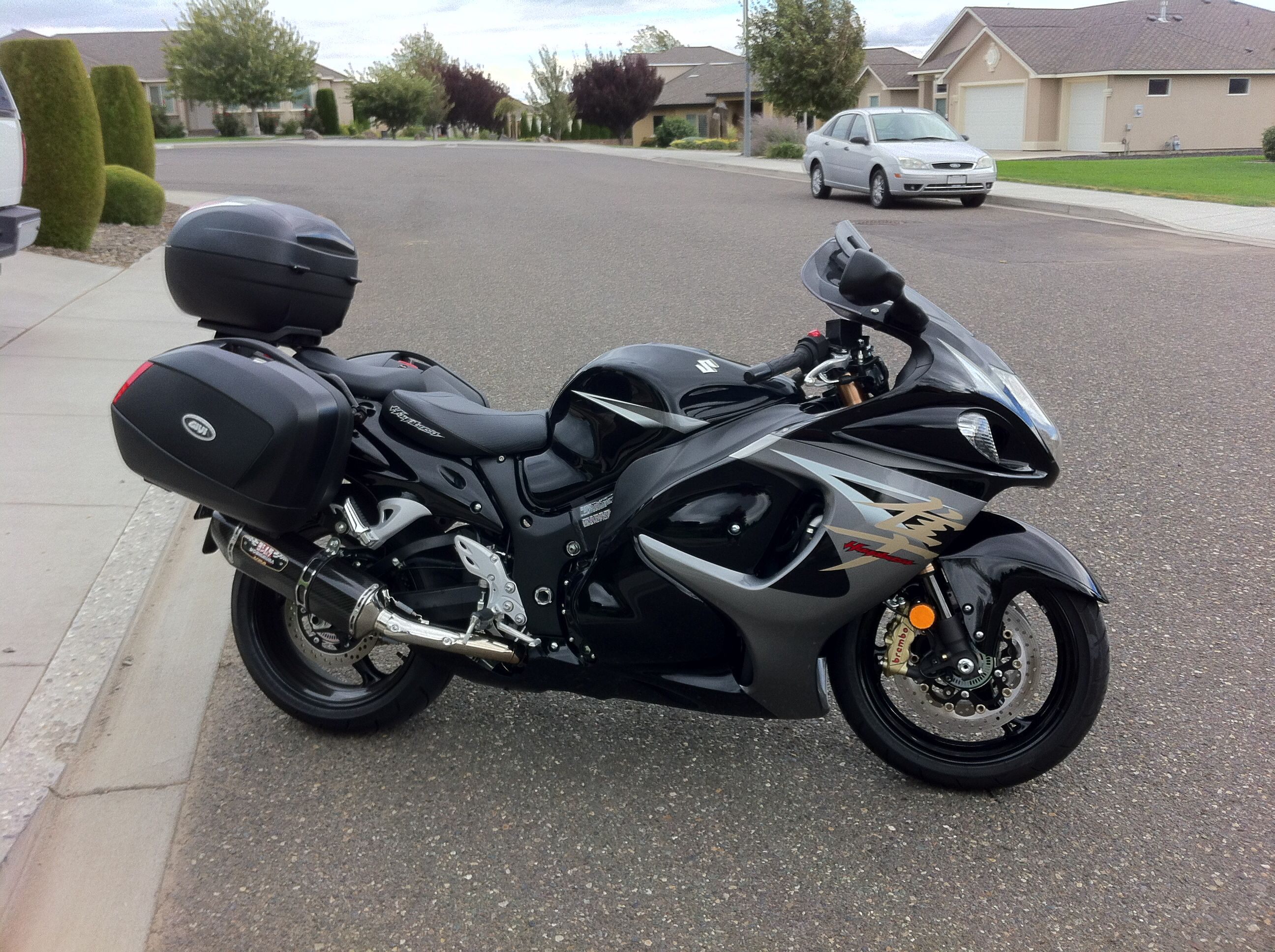 my 2013 suzuki hayabusa tour busa bagger generally. Black Bedroom Furniture Sets. Home Design Ideas
