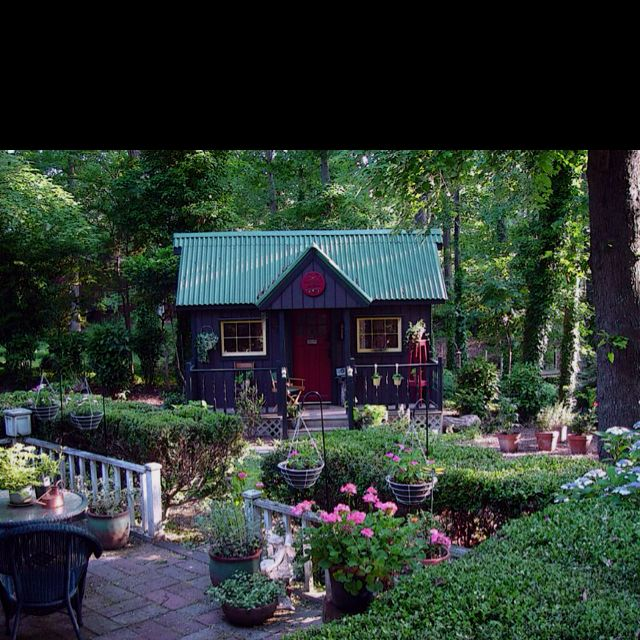 My Wonderful Virginia Beach Potting Shed.