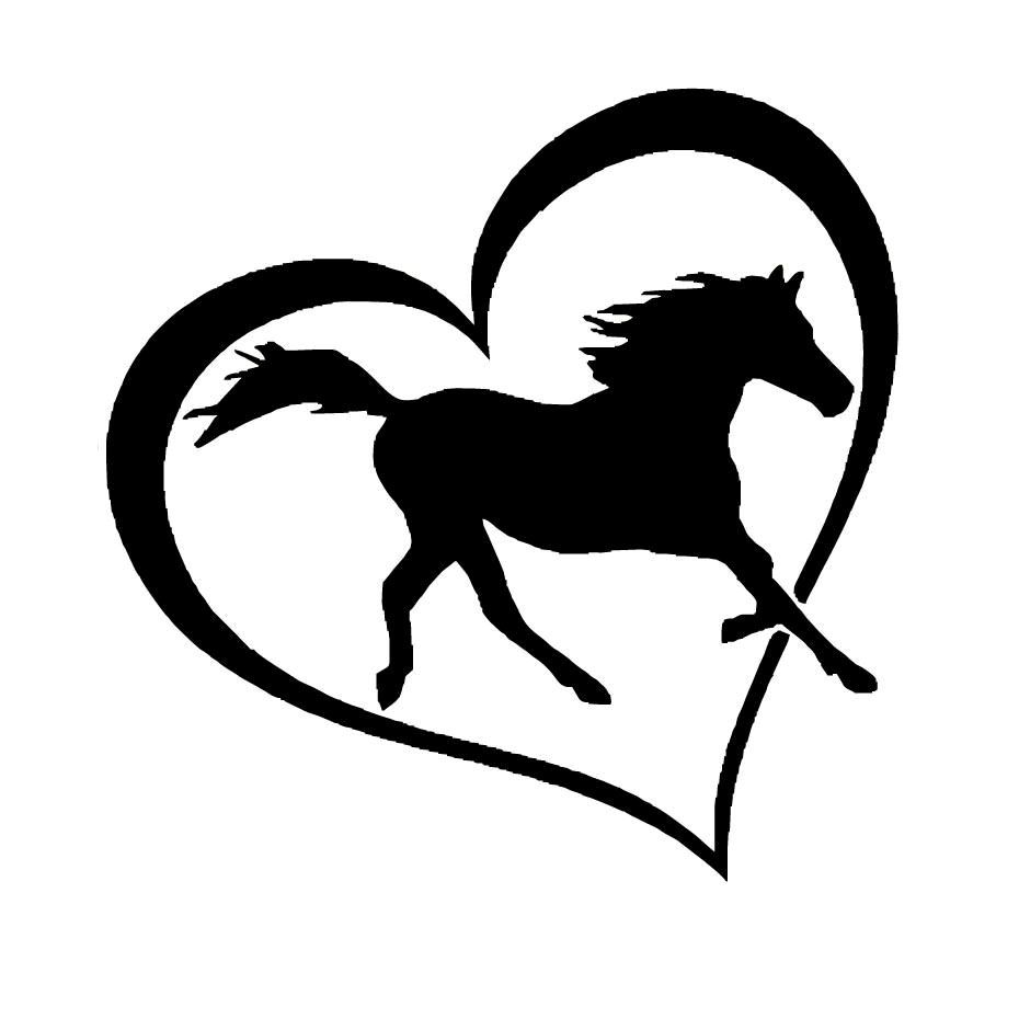 Animal lover Horse Dog Cat Love Pet Vinyl Decal Sticker for Car Window Laptop 2 Cat Dog Horse, Black