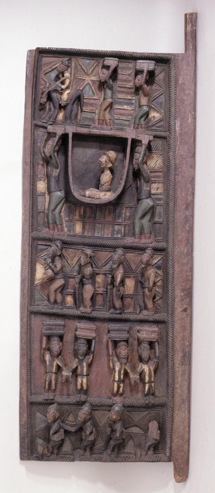 Yoruba Ilekun Palace Door Ekiti Ise Nigeria ifapeter