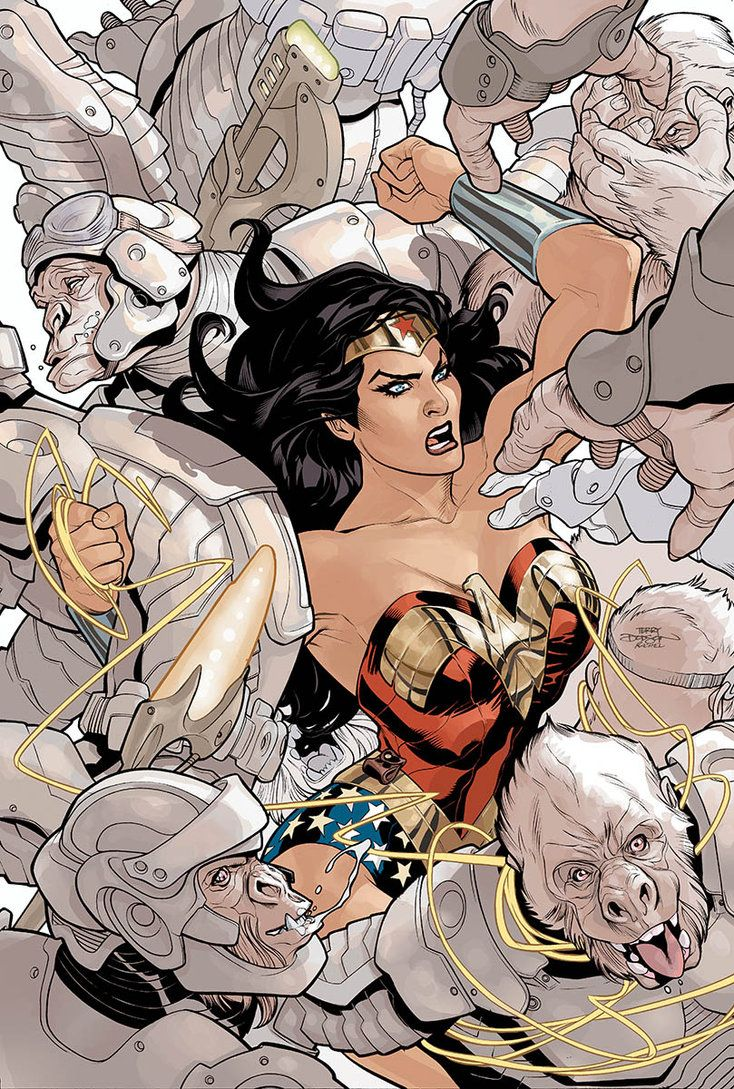 Terry dodson wonder woman