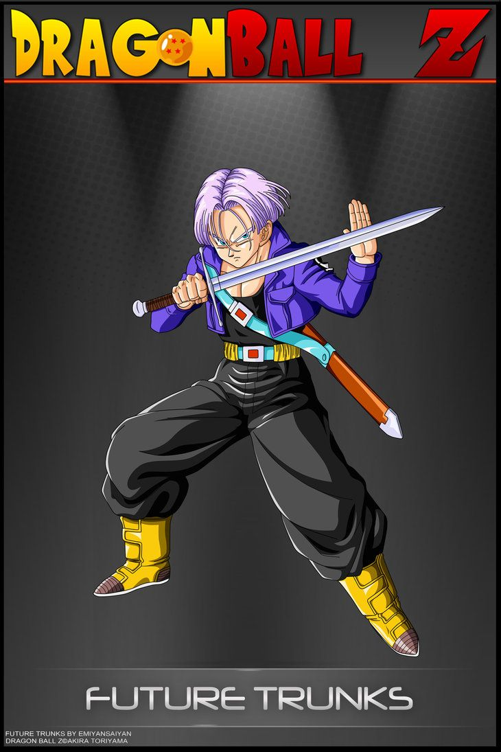 Dragon Ball Z - Future Trunks by DBCProject | Dbz ...