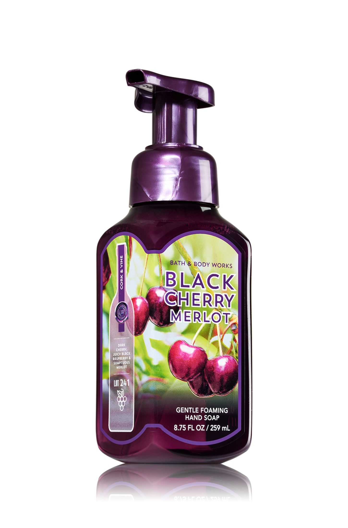 Black Cherry Merlot Gentle Foaming Hand Soap Soap Sanitizer