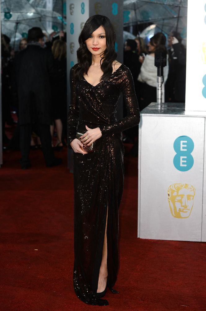 Gemma Chan at 2013 BAFTA Awards