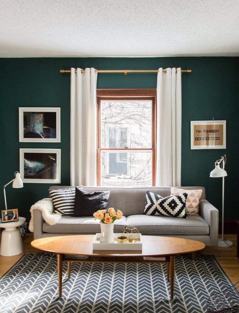 Idee Decoration Peinture Salon Tons Clairs Naturels Fonces Ou Pastel Deco Interieure Deco Sejour Deco Maison